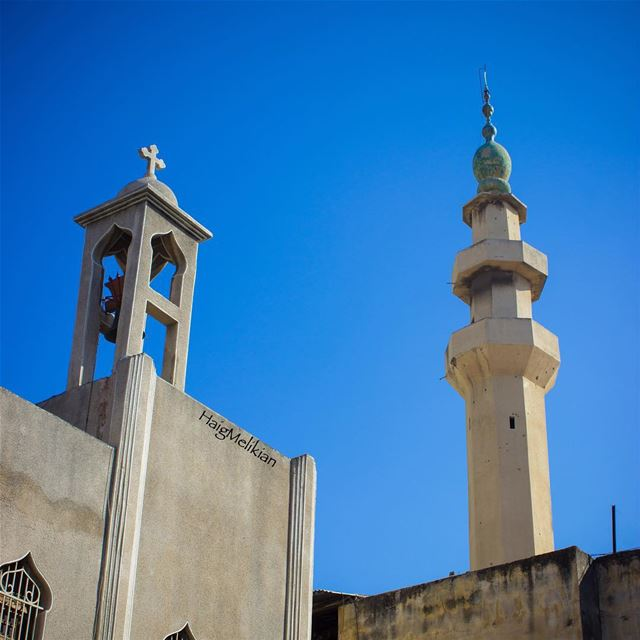 Despite the war in the region, we believe in One Lebanon 🇱🇧 ⛪️🕌 ... (Tripoli, Lebanon)