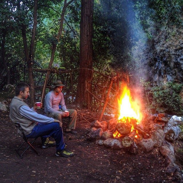 Campfire and deep talks🔥 Lebanon whatsuplebanon instagram ...
