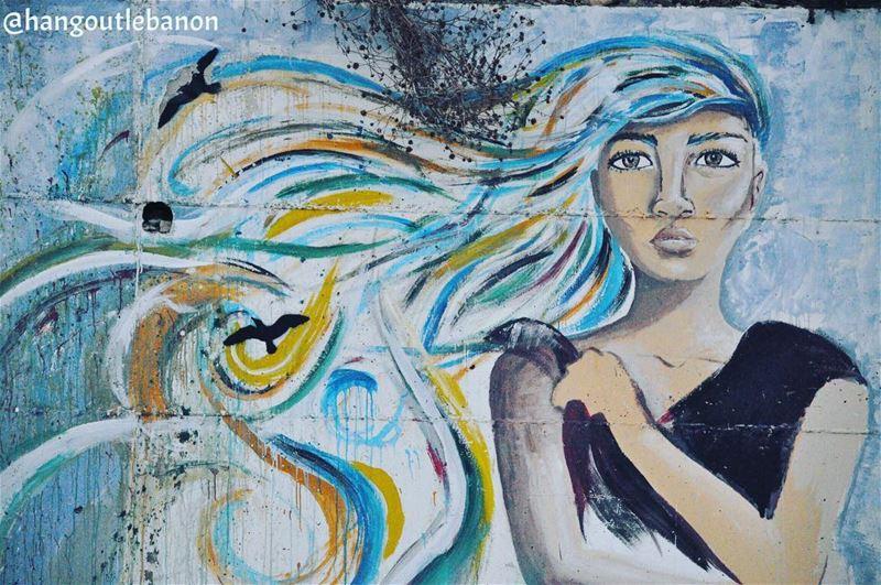 From the artwall in bintjbeil. من حائط الرسومات في بنت_جبيل. ---------- (Bent Jbeil)