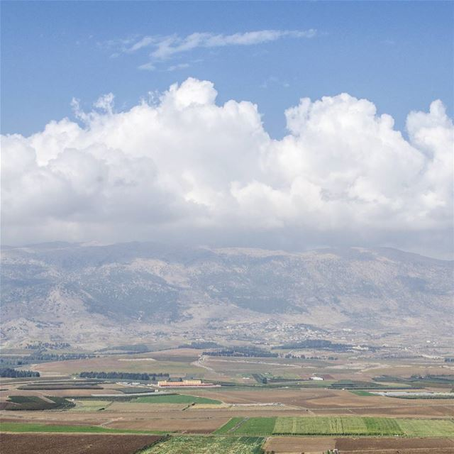 A view to bekaa 's beautiful valley ♡--------------------... (Bekaa Valley)