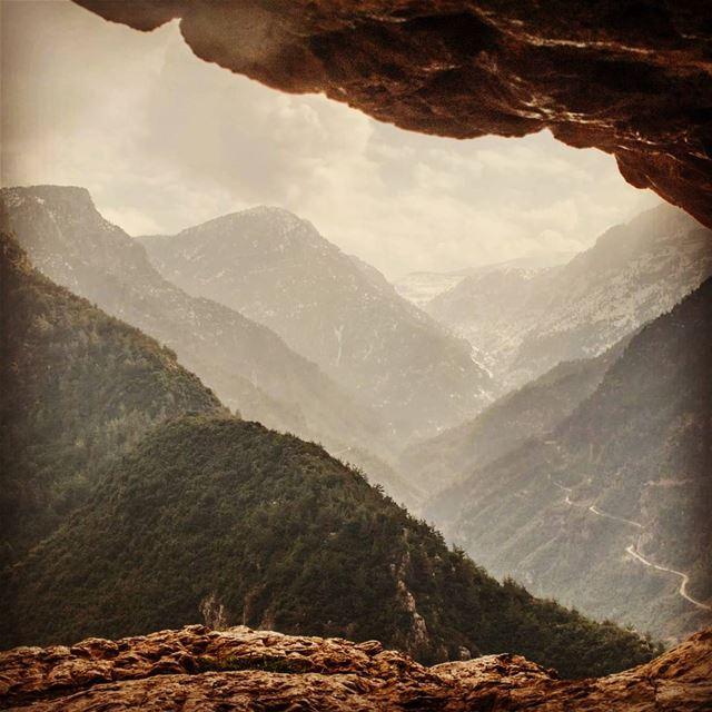 Far, so far away.. ------------------- hangoutlebanon lebanonpocketguide... (Hrar Wadi Jhanam)