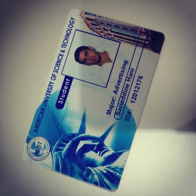 Found this !! My university card .... 10 years !!! ...