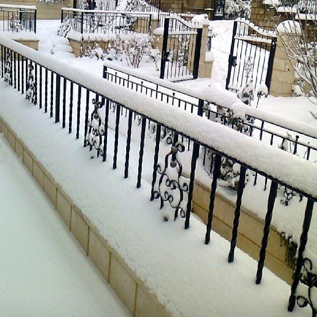 nofilter december 2013 lebanon Bzebdine snow myhome ...