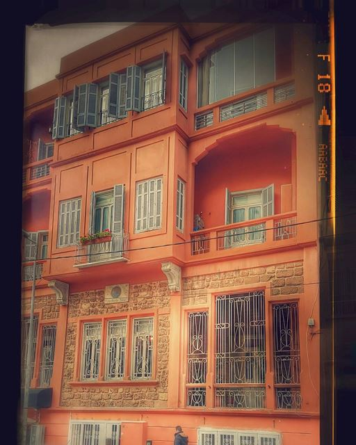 A Beirut house house lebanonhouses traditional authentic pink ... (Achrafieh, Lebanon)