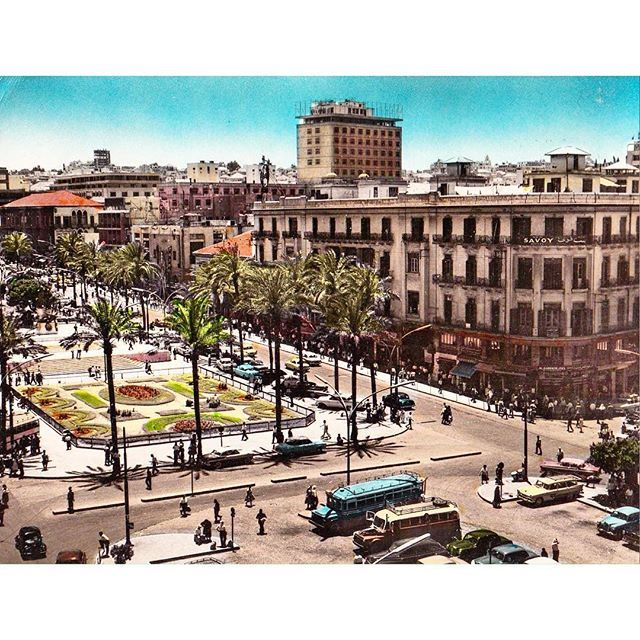 Good Morning From Beirut Martyrs Square In 1956 .