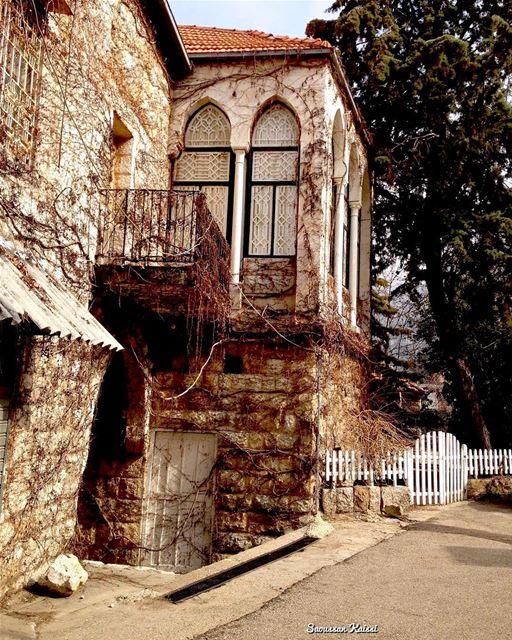 nostalgia heritage old lebanonhouses architecture douma ...