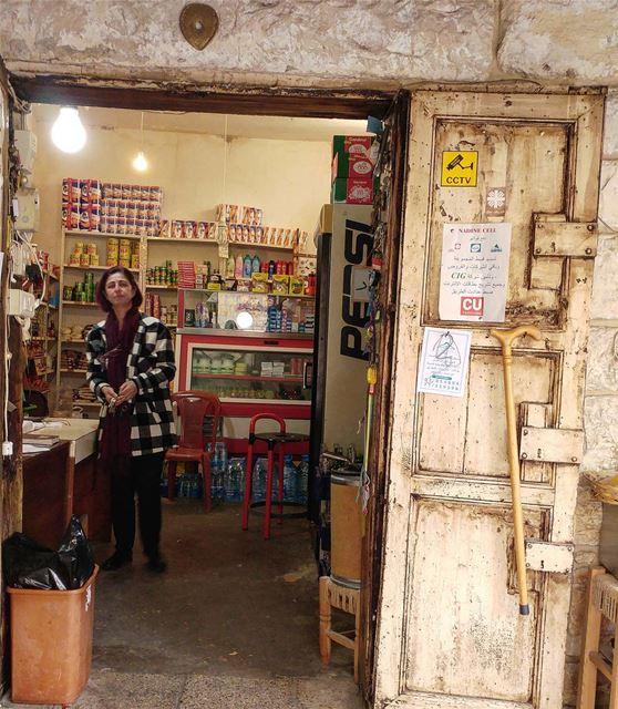 The general store owner in this town doubles up as mayor and go-to person... (Ad Dibbiyah, Mont-Liban, Lebanon)