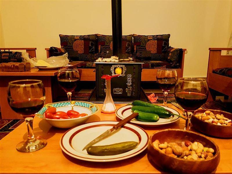 sobya night wine winetime potatoes beautiful friends lebanon ...