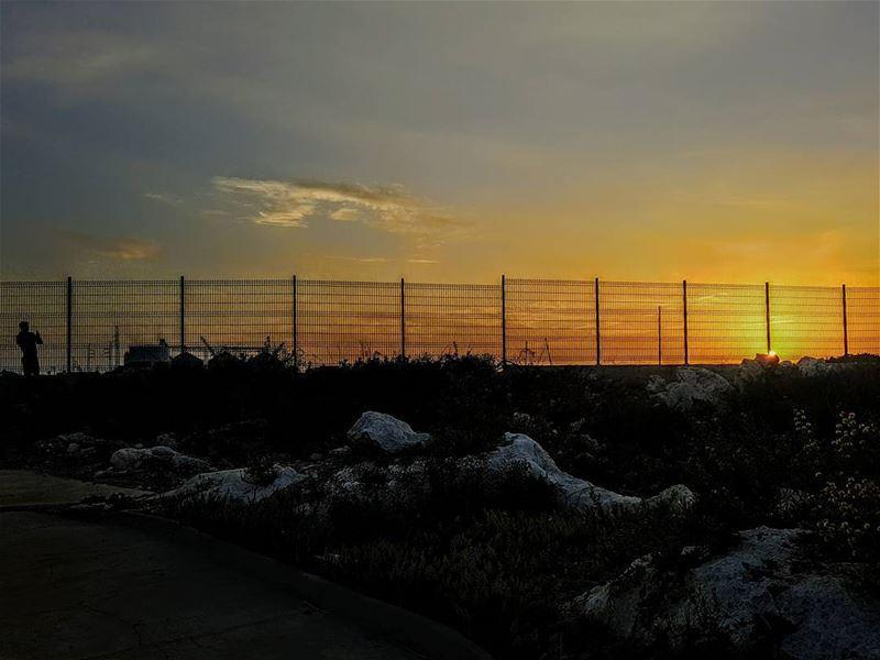 sunset sunsets beautiful beautifulsunet batroun northlebanon north ...