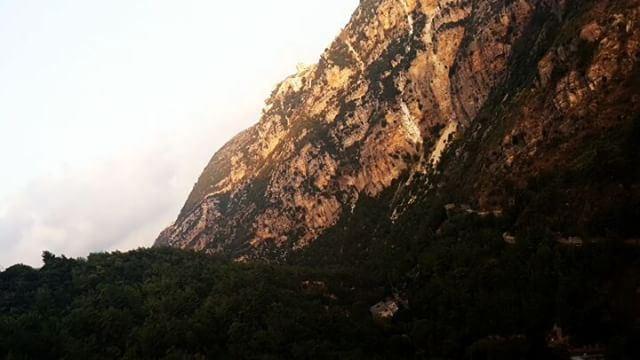 rise sunrise naherbrahim yahchouch moutains village lebanon ...