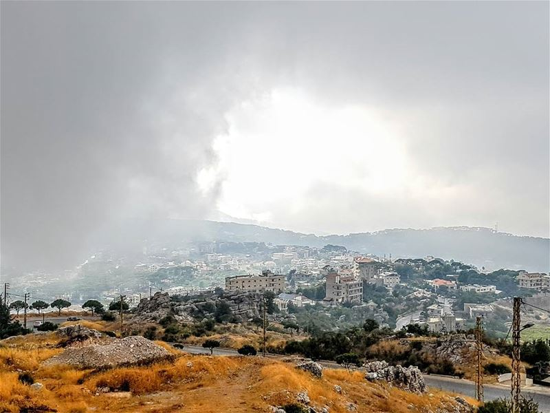 lebanoninstagram insta_lebanon ptk_lebanon zaarour clouds cloud ... (Zaarour - Sobhi Restaurent)
