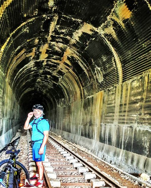 biking day bikingday discovering old tunel tunels train trains ... (Hamet)