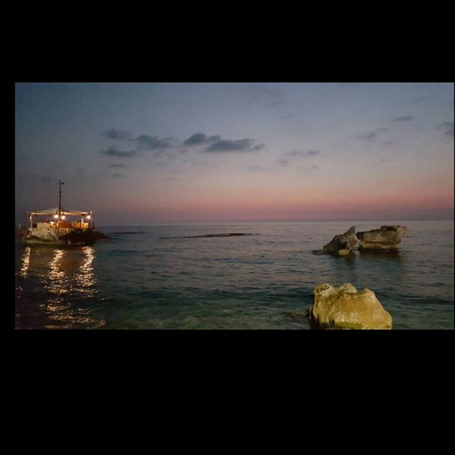 sunset lebanon batroun instabatroun ...