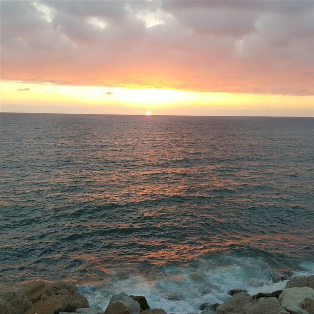 sunset lebanon dbayeh @lebanon_pictures ...