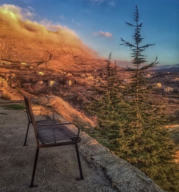 peace to end the week 🌲🙏☁️🌄_______________________________________... (Ehden, Lebanon)