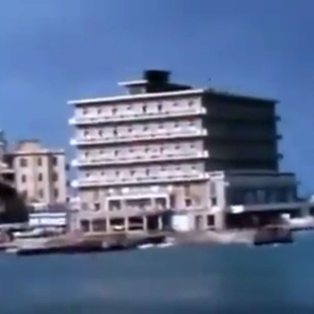 Beirut Corniche Saint George - Bab Idriss - Martyrs Square In February 1965 .