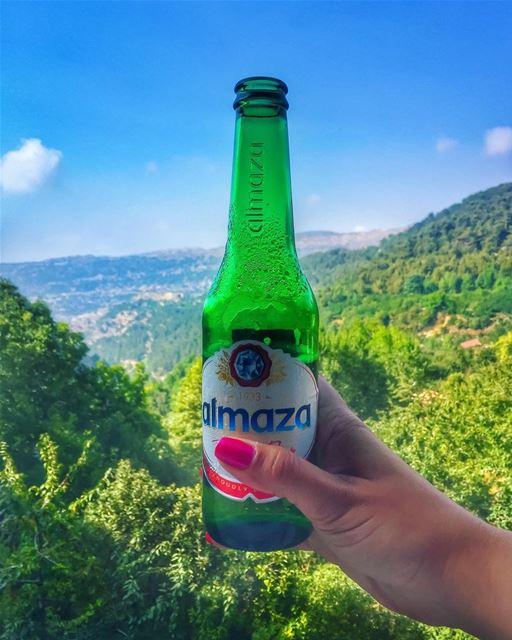 My green ehden 👒🌳🍻💚________________________________________... (Ehden, Lebanon)