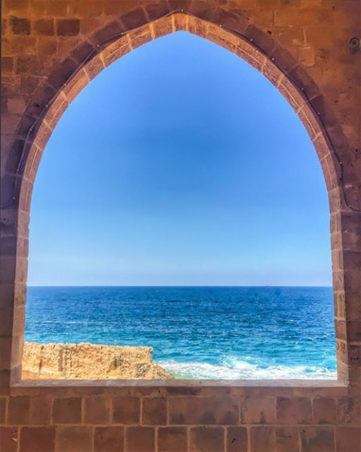 frameable Batroun Beauty 🙏__________________________________________... (كنيسة سيدة البحار)