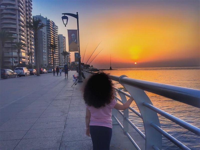 Fishing some hope 🎣🙏🌅🎣🙏___________________________________... (Beirut, Lebanon)