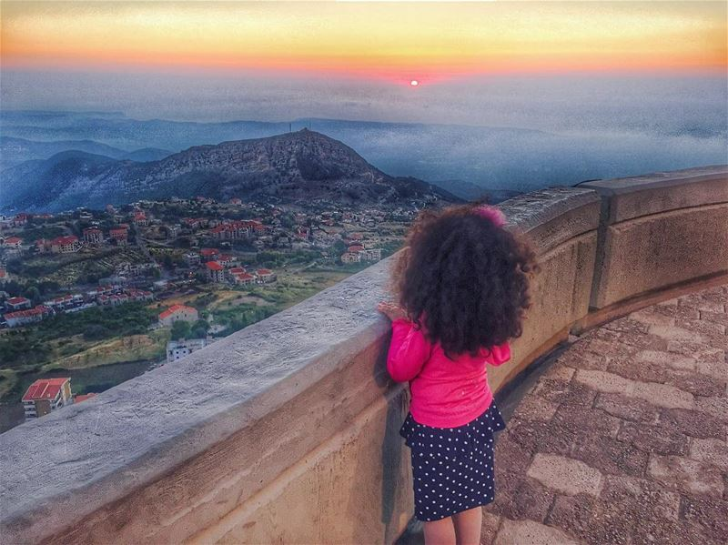 Hope is like the sun, which, as we journey toward it, casts the shadow of... (Saydet El Hosn - Ehden)