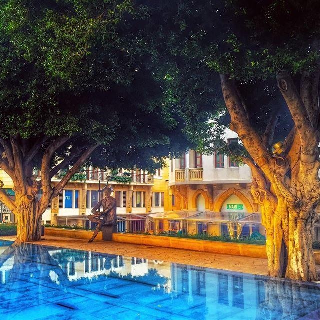 Histoire de Beyrouth 🙏______________________________________... (Samir Kassir Garden Dt)