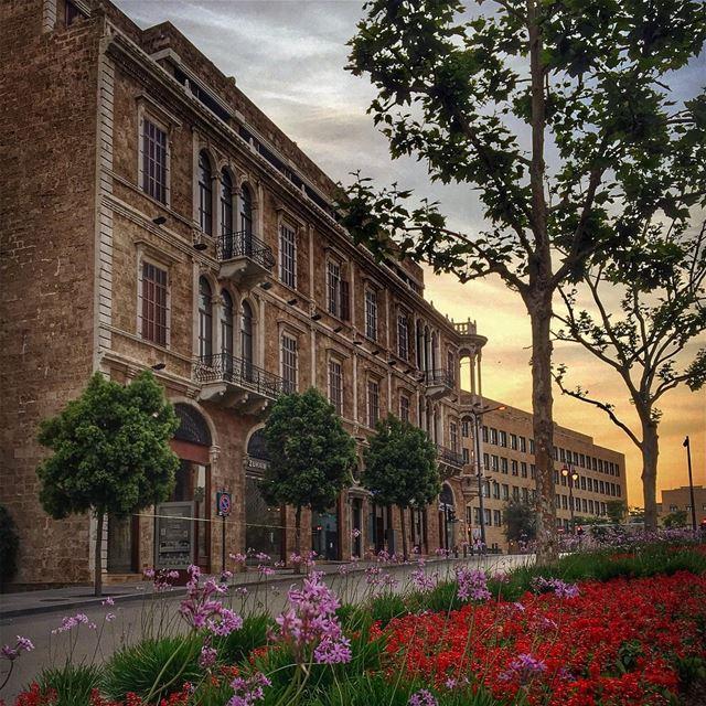 riseandshine Beirut sunrise 🌆🌄🌆______________________________________... (Beirut, Lebanon)