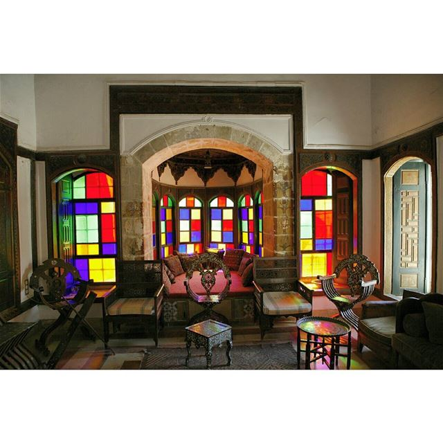 beiteddine deiraloumara arabesque interior art craft design ...