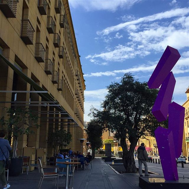 legray hotel sculpture art streetphotography streetstyle ... (Downtown, Beirut, Lebanon)