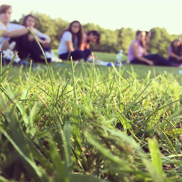 outdoors training sharetravelpics green grass volunteers ngo igers... (Otepää Estonia)