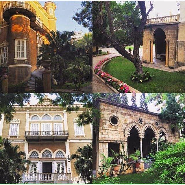 Good morning from Beirut Sursock Palace,