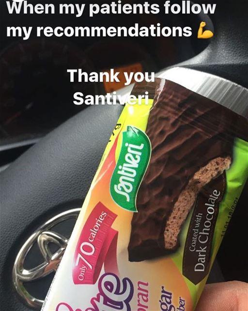 Thank you Santiveri for your light snacks 👍 @santiverilebanon Patients...