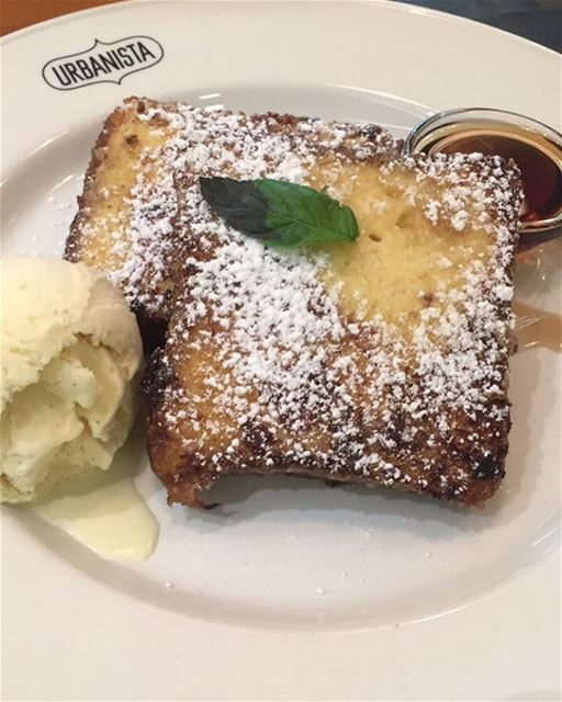 Not a healthy dessert 😏Pain Perdu 🍮 Must Try 😍 urbanista painperdu ... (Urbanista Food Coffee)