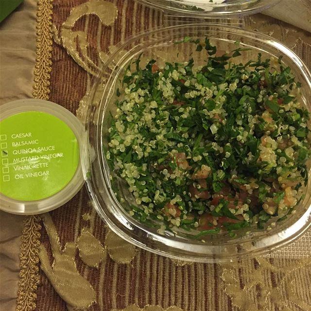 Quinoa Tabboulé 😍 dinnertime healthyfood instafood vegetables ...