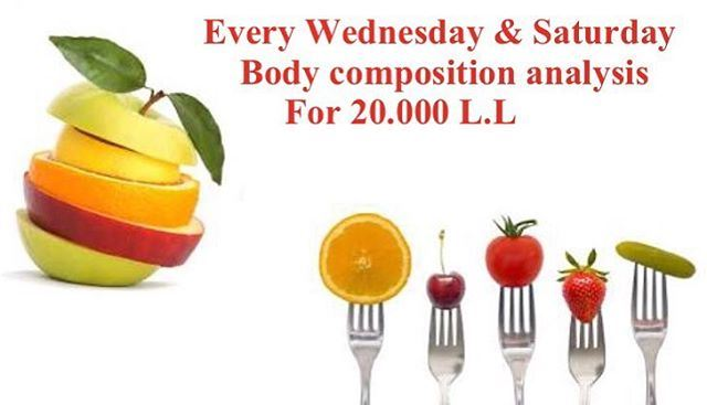 Special summer offer❗️Get your body composition analysis for 20.000 L.L &...