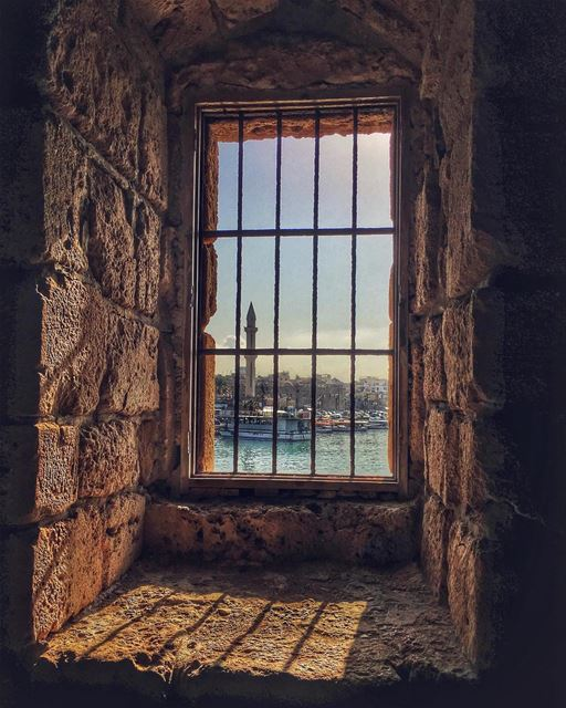 Prisoners of Conscience . sidon clouds nature sky_captures ... (Saida The Sea Castle)