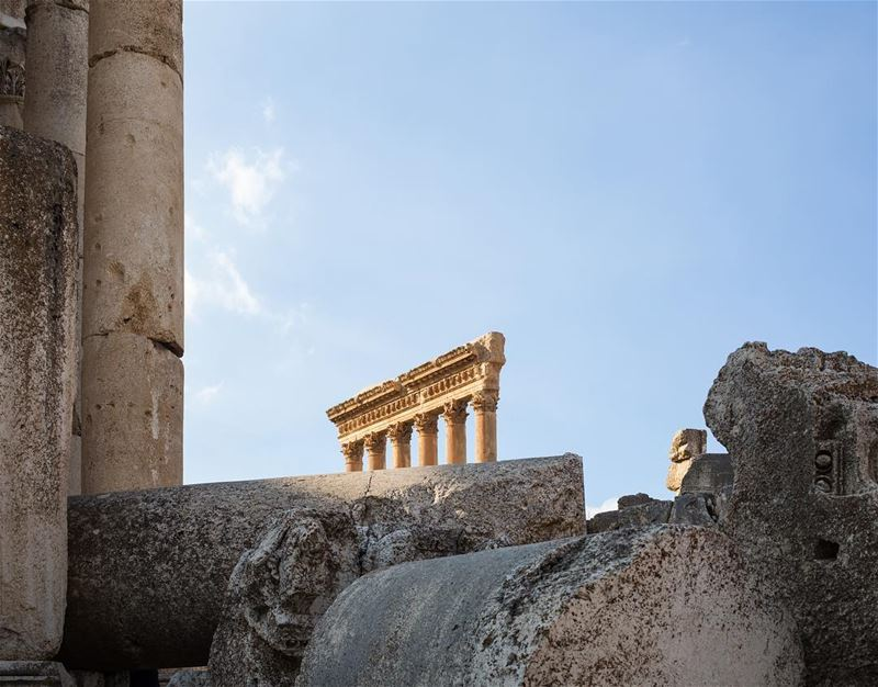 One more of this magical place. Baalbek temple ruins are a real playground... (Baalbek Temple)