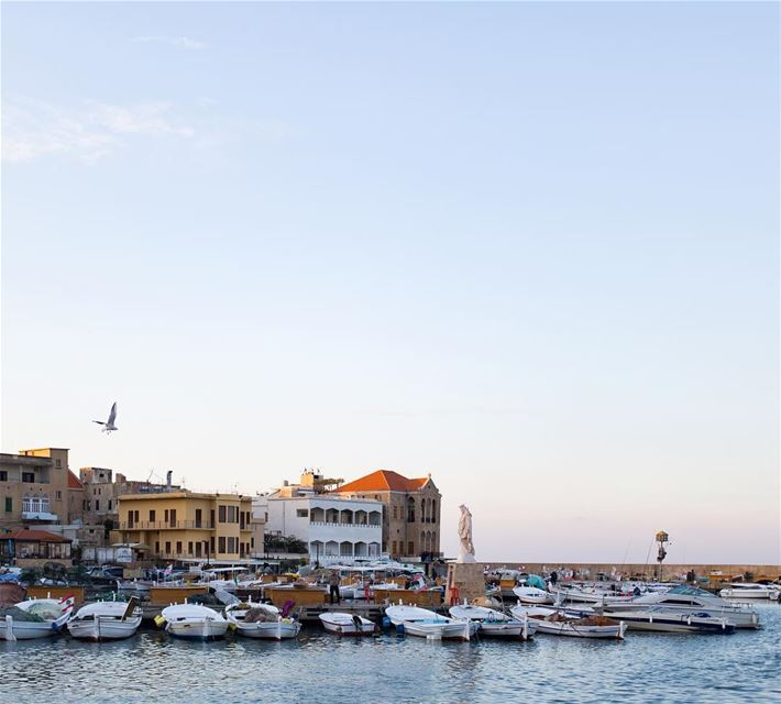 Magic light moment at the old port of Tyre - Sour in the south of Lebanon.... (Tyre, Lebanon)