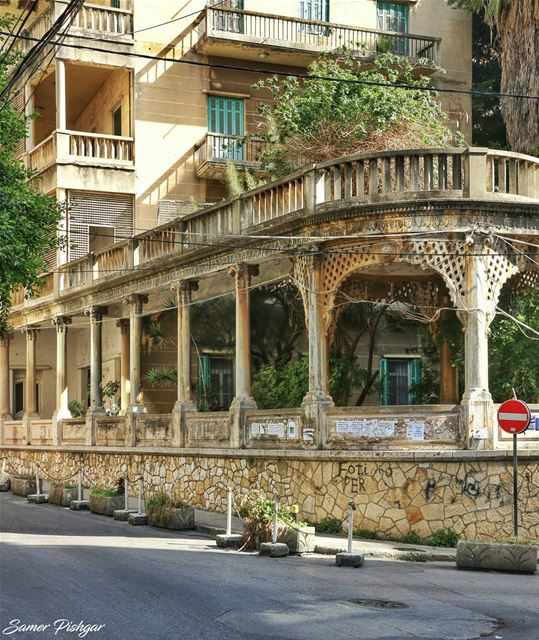 When they used to build these beauties in Beirut..Mseitbeh @oldbeirutleban