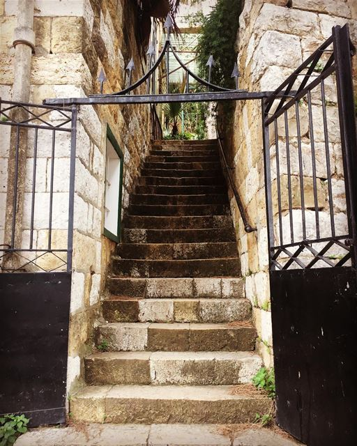Old but Gold old house stairs gate nostalgia lebanonhouses ...