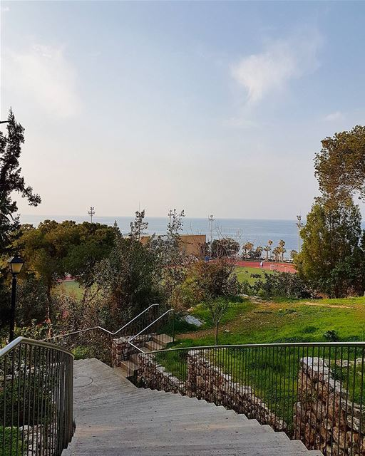 ... AUB: An Unrivaled Beauty 😊😀------.. Lebanon_HDR  Ливан  Бейрут ... (American University of Beirut (AUB))