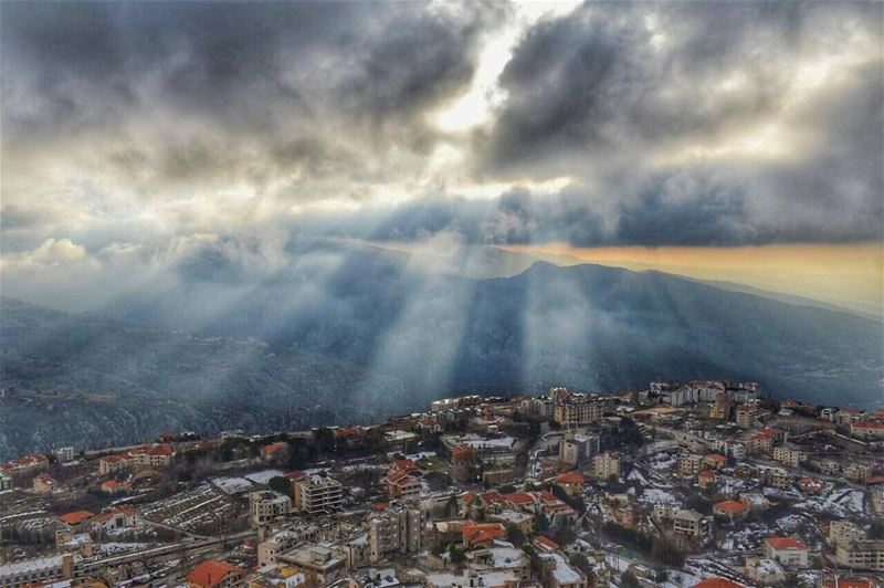 What a caterpillar calls the end of the world we call it a butterfly -... (Ehden, Lebanon)