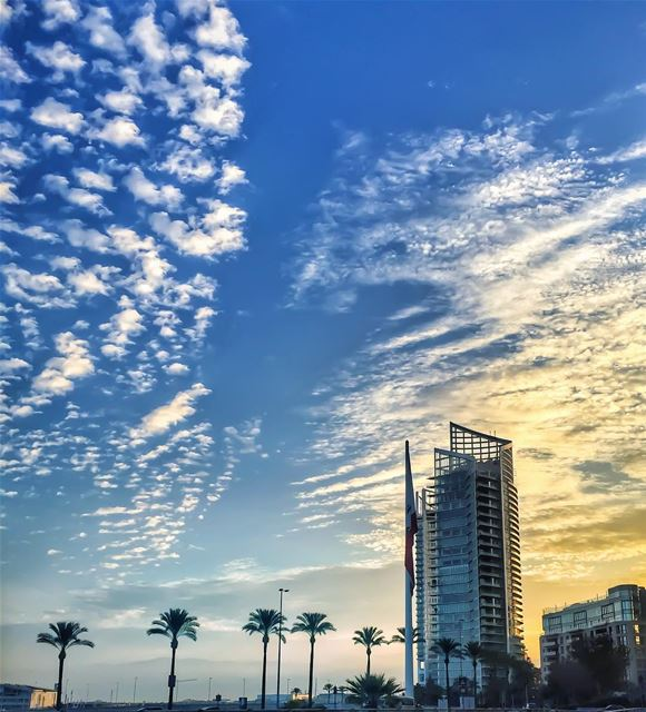 May your every sunrise be gratitude, just for having the chance to witness... (Beirut, Lebanon)
