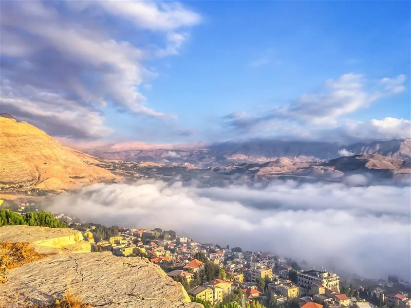 You are the sky. Everything else is just the weather - Pema Chodron... (Saydet El Hosn - Ehden)