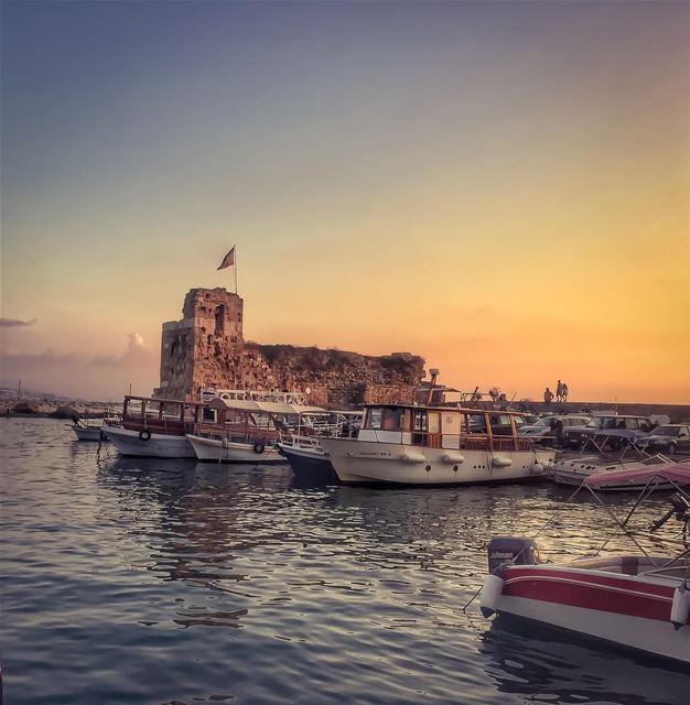 Tour d'ivoire 🎼🌅❤️______________________________________... (Byblos, Lebanon)