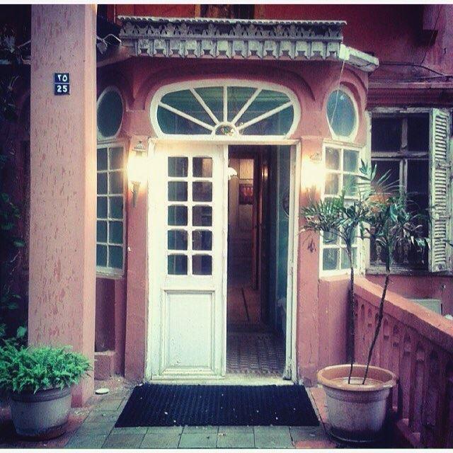 The Reception Gate Of Rose House Beirut Al Manara, Photo By @mayafidawi .