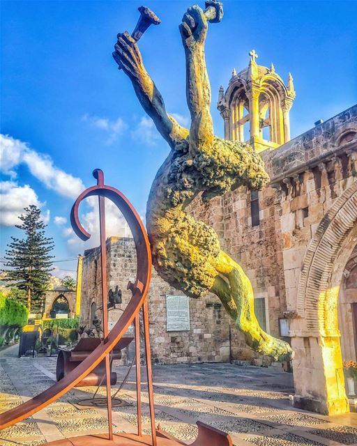 Faith is to believe what you do not see; the reward of this faith is to... (Eglise Saint-Jean Marc Jbeil)
