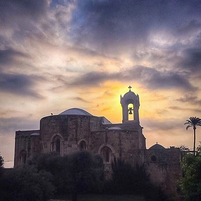 The Cross stands for us in these days as an eloquent symbol of God's love... (St Jean Marc Church, Byblos)