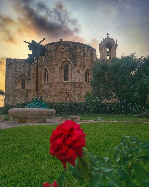 Brighten every move you make, every breath you take, with faith &... (St Jean Marc Church, Byblos)