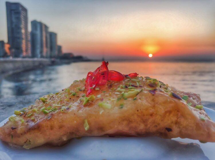 Ending the month of Ramadan with a Kellaj sunset ✨🌅✨ Wishing you all the... (Al Manara Beirut)