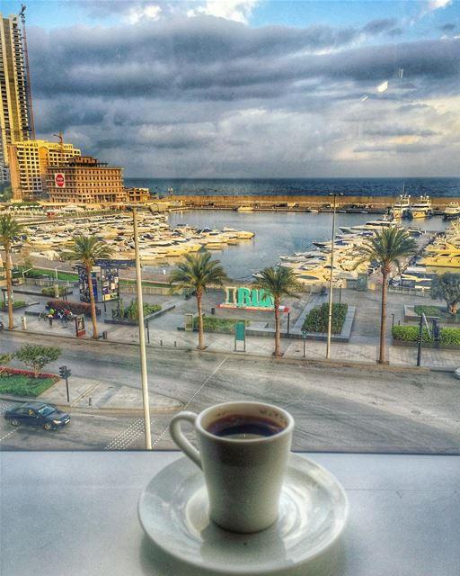 Wishing you a wonderful day 💙________________________________________... (Four Seasons Hotel Beirut)